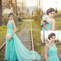 2015 ombre gown  vestidos de festa casamento longo Sleeveless dress party evening elegant Look Through evening dress