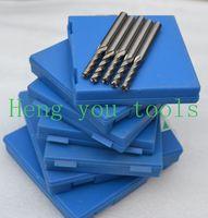 70pcs 2 2.5 3 3.5 4 5 6mm 4Flutes HSS Steel End Mill Cutter Endmill lathe tools