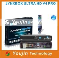 3PCS/LOT Upgrade visoin from jynxbox ultra hd v4,jynxbox ultra hd v4+ hd reciever for north america Jynxbox ultra hd v4 pro
