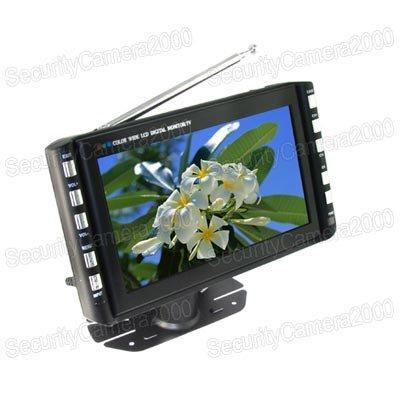 Free Shipping Portable 7 inch Color Television TV and Digital Photo Frame Monitor(China (Mainland))