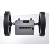 Free Shipping 0-9999.9M Mechanical Length Counter Meter Rolling Wheel [K421]