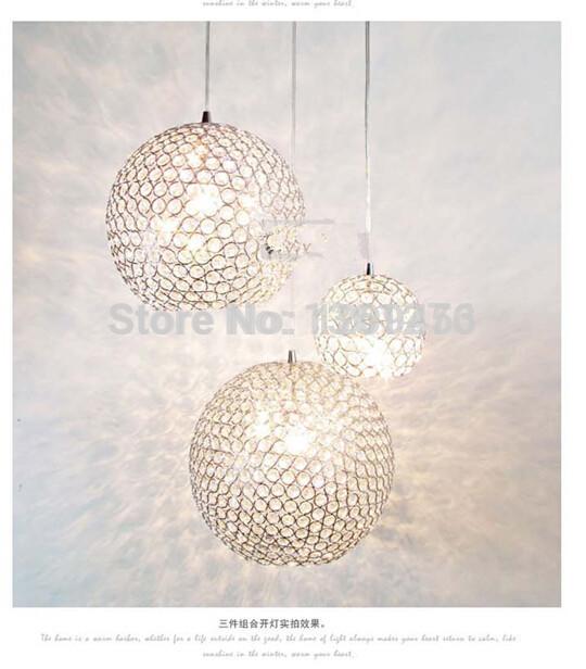 : Koop minimalistische moderne k9 kristallen kroonluchter slaapkamer ...