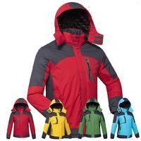 Unisex Brand Men's Women Outdoor Padded Jacket Fleece Winter Thermal waterproof camping windbreaker jackets Plus size M-4XL 0808