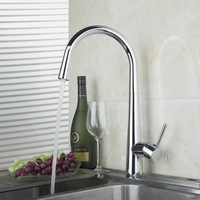 Faucet Kitchen Faucet Cozinha Torneira Polished Chrome Swivel Deck Mounted 92351-1 Single Hole Faucets,Mixers & Taps