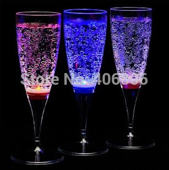 20pcs lot led font b plastic b font goblets wedding font b champagne b font font