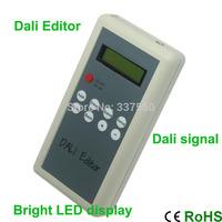 New Arrival!!! bright LED display Dali Editor Dali signal output query, modify and test single DALI dimmer