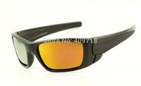 Fashion Acetate Sprots Sunglass Brand Eyeglass Men's/Women's Designer Fuel Cell OO9096-05 Black Sunglass Fire Iridium Polarized