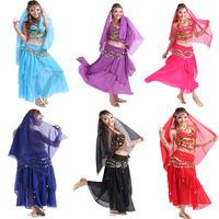 Flutter Belly Dance Harem Newborn Beautiful Belly Dance Costumes Prices Mini Women  Belly Dance Hearwear&Belt&pant&bellybant