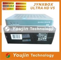3PCS/Lot JynxBox V5 Satellite Receiver+1080p Full HD +8PSK +Wifi JynxBox Ultra HD V5+ support Jb200 ATSC DVB-S2 for America