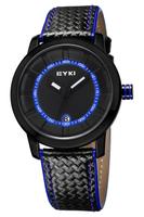 2015 New Fashion Business Quartz Watch Men Sport Watches Military Watches Leather Strap Watch