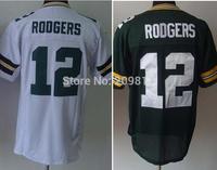 #12 Aaron Rodgers Elite Football Jersey Size M L XL XXL XXXL