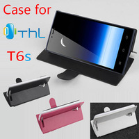 Brand New Protective PU Leather Hard Phone Case Filp Cover Back Shell for THL T6S Thl T6 Pro Android Smartphone