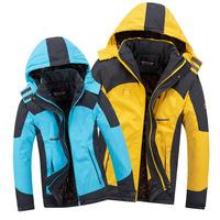 Li- Brand Men's Women Outdoor Padded Jacket Fleece Winter Thermal waterproof camping windbreaker jackets Plus size M-4XL 0808