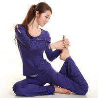 Free shipping women long sleeve+long pant autumn spring yoga tracksuits clothing set,outdoors gym jogging suits sport suit