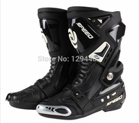 Free shipping PRO-BIKER motorcycle road racing boots shoes boots knight boots B1005 contest.roshe run