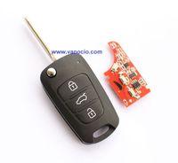 KIA K2 folding remote key control 434mhz with ID46 chip