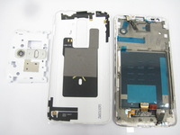 White Back Housing cover + Frame+ LCD display + Touch Screen Digitizer For LG Optimus G2 D802 D802T