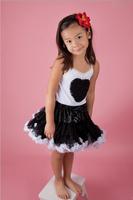 new fashion arrival girl princess solid pettiskirt tutu nylon tulle factory designer halloween festival kids short skirt
