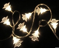 Christmas tree string lights  Christmas tree shape 10 meters  white