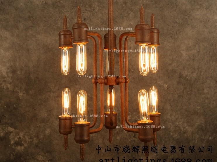 europe style Pendant Lights Steam pipe villaled(China (Mainland))