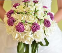 30  bride holding flower simulation  wedding flowers bridal bouquets wedding bouquet decoration accessorie