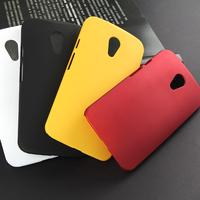 Matte finish protective pc case for motorola moto g2 xt1063 xt1068 phone back cover for moto g2 case red black white blue red