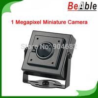 Miniature Camera 1.0 Megapixel 720P Resolution Compatible with AHD DVR Pinhole Camera 40*40 mm size Surveillance Hidden Camera