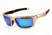 Brand Name Metal Sunglass Fashion Sunglass Men's/Women's Designer Jury OO4045-03 Silver Sunglass Blue Iridium Lens Polarized