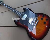 New Arrival  Wholesale G400 Model Electric Guitar SG  In Sunburst  201104
