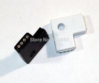 4pin L-Shape Connector Wireless 3528/5050 RGB LED Strip Connectors Plug - 100PCS