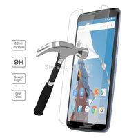 Nexus6 Premium 9H 2.5D Tempered Glass Screen Protector Protective Film For Google Nexus 6 Free Shipping 2Pcs