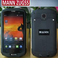 2015 New MANN ZUG 5S ZUG5S 5.0''HD OGS WVGA IPS 1280x720 pixels Android 4.4.2 IP67 1GB 8GB 2.0MP 8.0MP 4G FDD-LTE WCDMA 4050mah