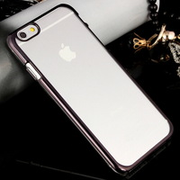 New Luxury PC Plating Hard Case For IPhone 6 & 6 Plus Ultra Thin Hybrid Transparent Cover