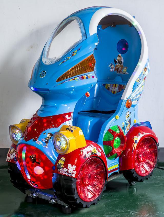 coin operated kiddie rides, rocking machine, Happy ceiling(China (Mainland))