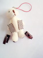 men's Smart and stylish, checkered cufflinks. free shipment