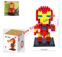 Marvel Super Hero Minifigures Classic Toys Building Blocks LOZ Iron Man Model Bricks Decool  Avengers free shipping