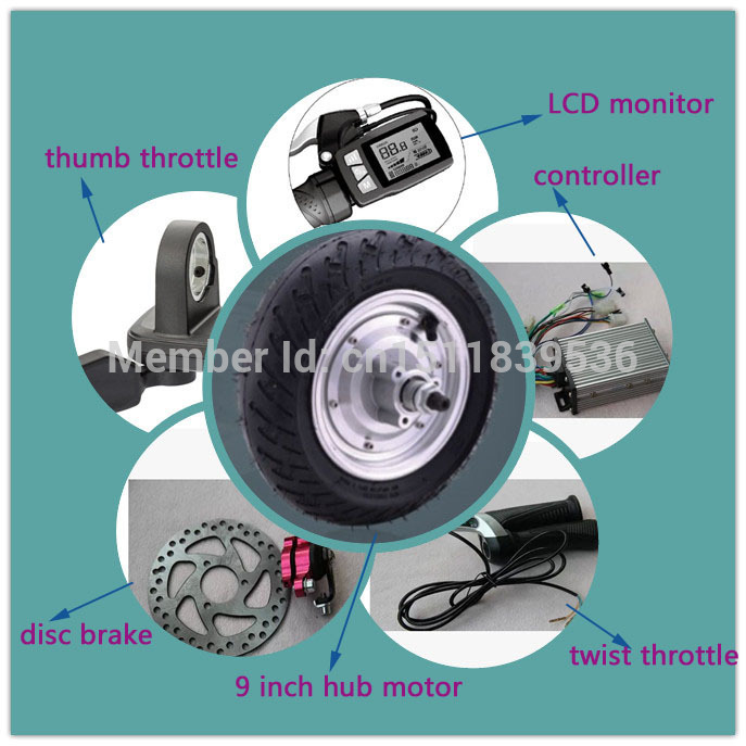 24V brushless and gearless dc hub motor for two wheel electric escooter(China (Mainland))