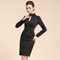 2014 New fashion sexy dress evening dress women party black dresses prom dresses
