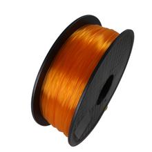 Yellow Color 3D Printer Filament PLA 1.75mm 1kg Plastic Rubber Consumables Material