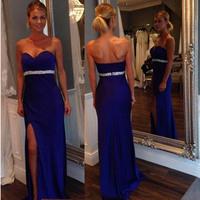 Vestidos 2014 Women Celebrity Party Evening Elegant Long Winter Maxi Dresses Slim Off Shoulder Mermaid Prom Gown Bandage Dress