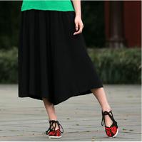 8 color 2015 Plus size women Big crotch pants harem wide leg pants casual trousers bloomers skorts cotton pants L/XL/2XL/3XL/4XL
