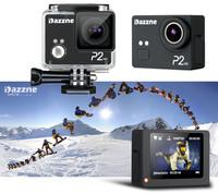 Dazzne P2 1080P Action Camera Gopro SJ4000 Style Sport Esporte DV 2Inch HD TFT Screen Waterproof Car DVR Support 64GB SD Card
