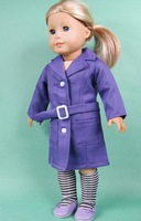 """Free shipping!!! hot 2014 new style hot Popular 18"""" American girl doll dress clothes set"""