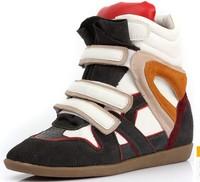 IM Factory Isabel Marant Original box Spring Summer Genuine leather Wedge Sneaker Zapatos Sapatas Botas Masculinas