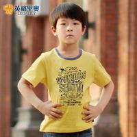 Kids boys summer short-sleeved T-shirt new Korean casual cotton T-shirt