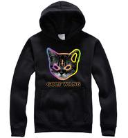 Men Fashion Brand hoodies Odd Future Sweatshirt Skateboard Unisex Women Casual Cats Head T-shirt odd-future golf Wang  hoodie