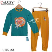Frozen Olaf Long Sleeve Boys Pajamas Children Cartoon Pyjamas Sleepwears 5sets/Lot For Big Boy 8-12Y Christmas Sale Kids Wears