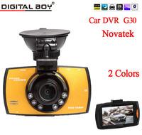 "Digital Boy Car Dvr G30 Novatek 2.7"" Full HD 1080P 170 Wide Angle Lens new Car Camera recorder with HDMI G-Sensor Night Vision"