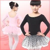 Full--Sleeve Ballet Dress for Girls Dance Leisure Gymnastics Leotard Ballet Tutu Skate Dance Party Dress Women Costume LD024