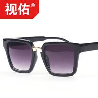 Fashion trend of the 2014 sunglasses female fashion sunglasses box women's sun glasses